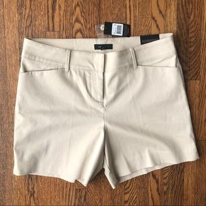 NWT The Limited Tailored Shorts Tan Highrise
